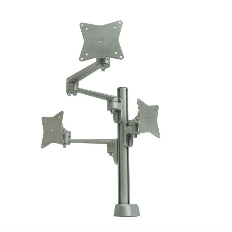 Vecta monitorarm lengtes op 1 post