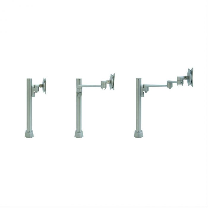 Vecta monitorarm drie lengtes op rij